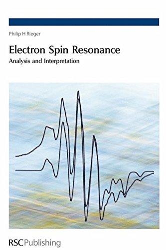 Electron Spin Resonance: Analysis and Interpretation