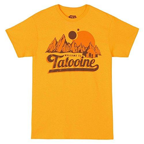 T-Shirt - Star Wars - New Tatooine,Large,Yellow
