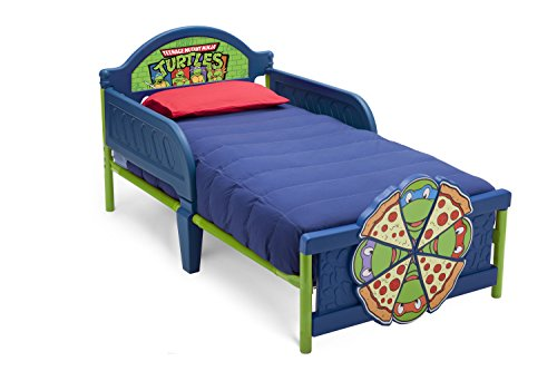 Delta Children 3D-Footboard Toddler Bed, Nickelodeon Ninja Turtles (Ninja Turtles Bed compare prices)