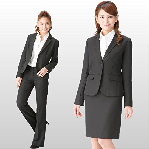 リクルート ビジネススーツ ウォッシャブル レディースパンツ・スカート・ジャケット3点セットスーツ 裾上げテープ付き 通勤 就活