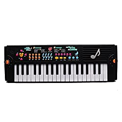 Happytime Electric Piano 37 Key Keyboard Digital Piano Mini Keyboard Electronic Piano Portable Keyboard Kids Piano With Microphone