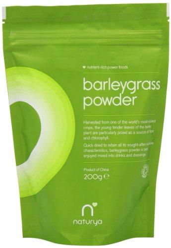 Naturya Organic Barleygrass Powder 200 g Nutritional Power Food One Pouch
