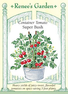 Tomato - Container - Super Bush Seeds (Tomato Patio compare prices)
