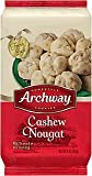 Archway Holiday Cashew Nougat Cookies - One 6 oz Box