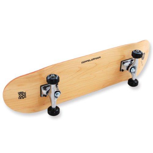 DOPPELGANGER(ドッペルギャンガー) スケートボード DSB-10 31インチ 【高品質カナディアンメープルデッキ】 コンプリートセット 【ABEC5ベアリング採用】