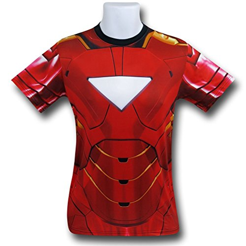 Iron Man Sublimated Athletic Costume T-Shirt