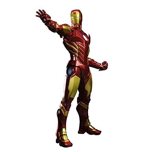Kotobukiya-Marvel-Comics-Iron-Man-Avengers-Now-ArtFX-Statue-Red-Color-Variant