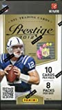 2012 Panini Prestige Football Factory Sealed Retail Box!! Look for Rookie Cards & Autographs of Russell Wilson, Andrew Luck,Robert Griffen & all the Top 2012 NFL Draft Picks!