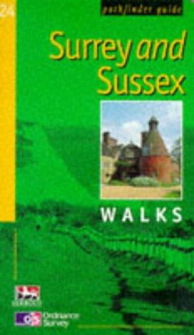Surrey and Sussex Walks (Pathfinder Guides)