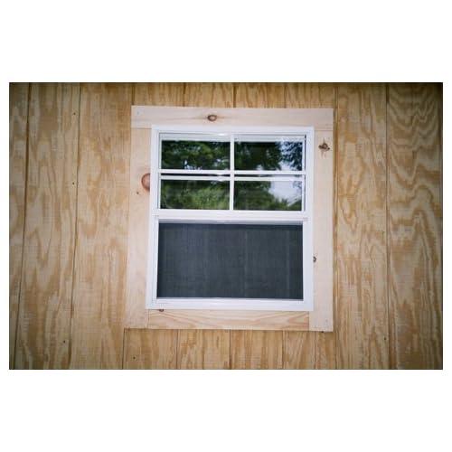 Amazon.com: 18x23 Opening Single Hung J-Lap Window with Screen