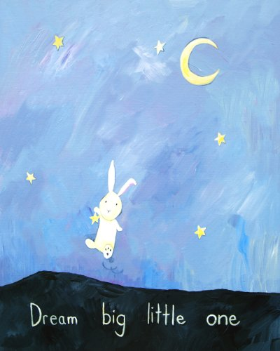 Cici Art Factory Wall Art, Dream Big Little One, Small