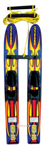 Kwik Tek ST-150 Trainer Skis 48 in wood