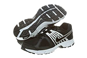 Nike Men's NIKE DOWNSHIFTER 5 RUNNING SHOES 11 (BLACK/BLACK/WHITE/MTLLC SILVER)