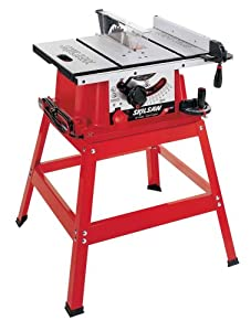 Skil 3400 08 15 amp 10 inch table saw with stand power for 10 inch skilsaw table saw