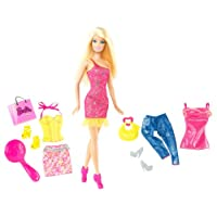 Barbie Doll and Fashion Assortment - Fashion Accessories Pink