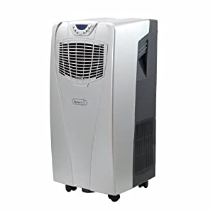 NewAir AC-10000H Portable Air Conditioner and Heater w  Remote Control by NewAir
