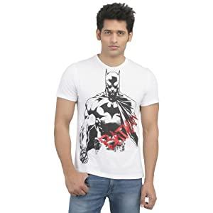 Batman T-Shirts White|L