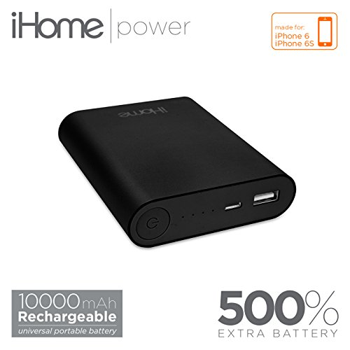 iHome - SuperCharge 10000 mAh External Batter (Space Gray) (Halo Juice compare prices)