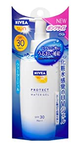 NIVEA SUN Protect Water Gel SPF30 150g Pump | UV Protection (Japan Import)