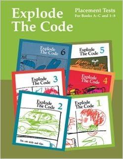 Explode the code books 1 8
