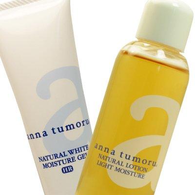 アンナトゥモール anna tumoru ナチュラルホワイト モイスチャージェルHR 50g+ナチュラルローションサマーホワイトエモリエント 120ml