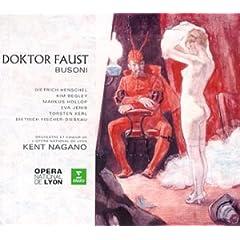 ケント・ナガノ指揮 ブゾーニ 歌劇《ファウスト》の商品写真