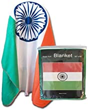 India - 50quot x 60quot Polar Fleece Blanket