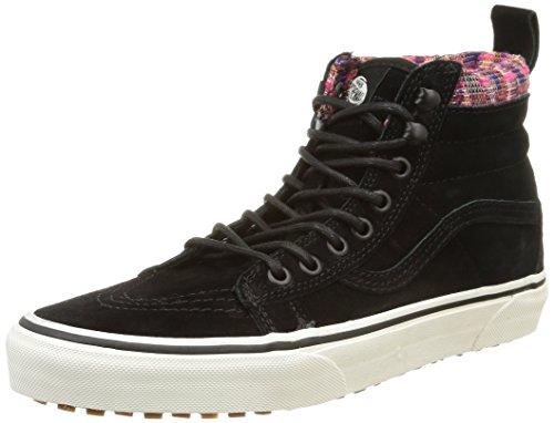 vans-u-sk8-hi-mte-unisex-erwachsene-sneakers-schwarz-mte-black-woven-chevron-37-eu