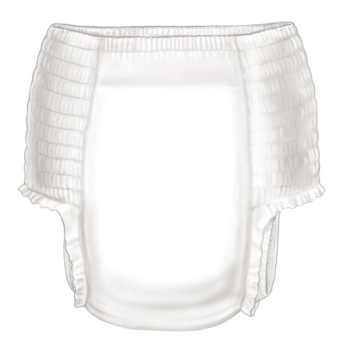 Curtiy Disposable Youth Absorbent Underwear X-Large (Case Of 52) front-949862