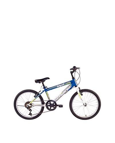 "SCH Bicicleta Mtb Integral 20"" 6 V Eco Power Azul / Blanco"