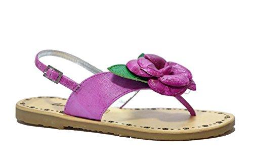 Lulu' bambino Sandali infradito fucsia scarpe bambina JUDY 35