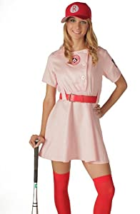 League of Their Own Rockford Peaches Dlx Costume (Small / Medium)
