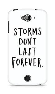 AMEZ storms dont last forever Back Cover For Acer Liquid Z530
