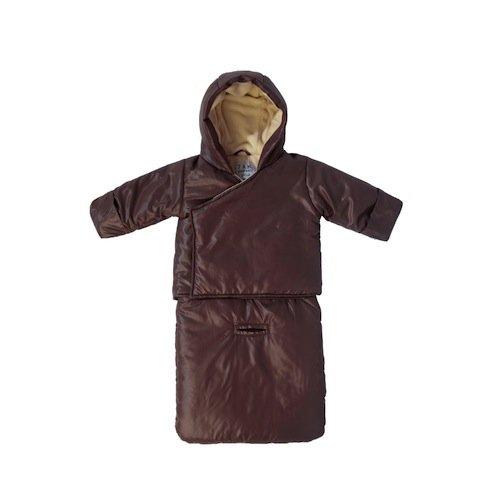 7 A.M. Enfant BagOcoat Jumpsuit Sacs, Marron Glace, Medium