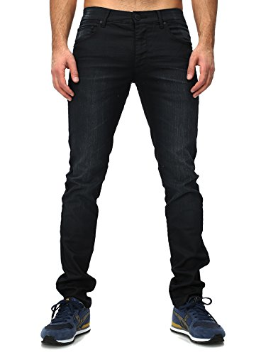 Shine Original -  Jeans  - Uomo Nero  nero