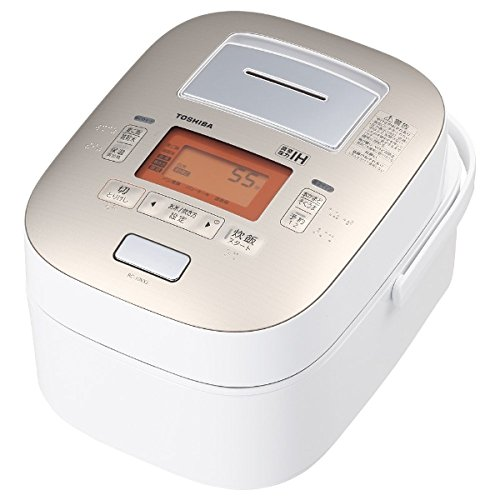 東芝 真空圧力IHジャー炊飯器(5.5合炊き) グランホワイトTOSHIBA 真空圧力かまど炊き(真空圧力IH保温釜) RC-10VXJ-W