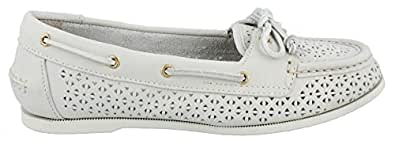Women's Sperry Top-Sider, Audrey Slip-on Boat Shoe IVORY 5 M