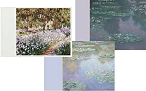 Entertaining with Caspari Claude Monet Blank Notecards, Set of 8