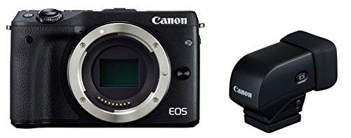 Canon ミラーレス一眼カメラ EOS M3 ボディ(ブラック) EVFキ...