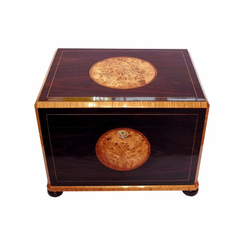 Jr Quality Humidor - Holds 300 Cigars - Includes Electronic Humidity System - (20.3 X 15.3 X 15')