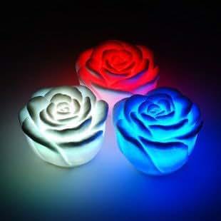 led leuchten lampe die farbe wechseln lampen bunte lichter spielzeug lampen l rose leuchten. Black Bedroom Furniture Sets. Home Design Ideas
