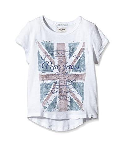 Pepe Jeans London Camiseta Manga Corta Duma Blanco