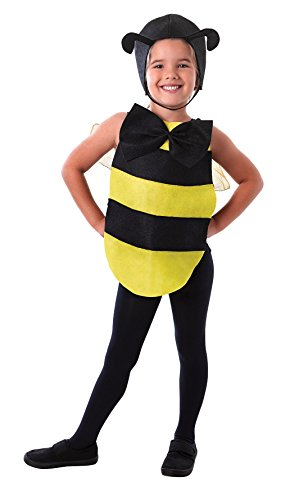 [Black & Yellow Childrens Bumble Bee Dress Up Kit] (Mens Bumble Bee Costume Uk)