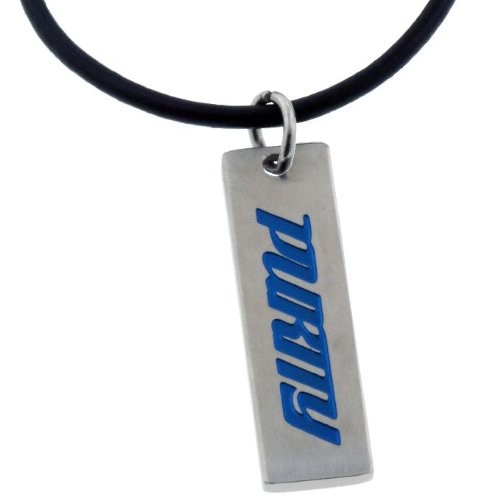 Forgiven Jewelry - Stainless Steel - Engraved Blue Purity Tag Pendant
