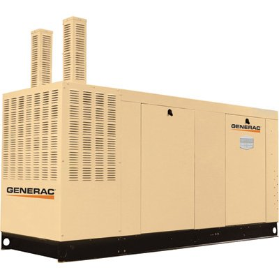 Generac Commercial Series Liquid-Cooled Standby Generator 100 Kw, 120/240...