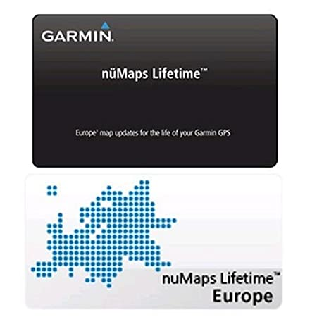 Garmin nüMaps Lifetime Map Update Europe Map
