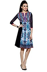 Universal Creation fancy multicolored attractive printed Kurtis