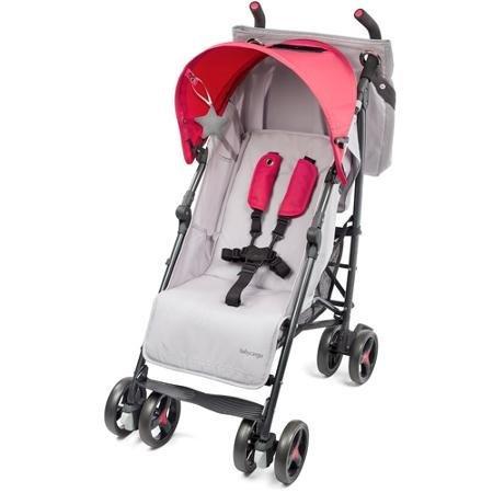 Baby-Cargo-Series-50-Bundle-Stroller-and-BONUS-Diaper-Bag-SmokeHot-Pink