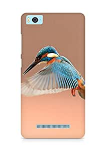 Amez designer printed 3d premium high quality back case cover for Xiaomi Mi5 (Beautiful Flapping Kingfisher Bird)