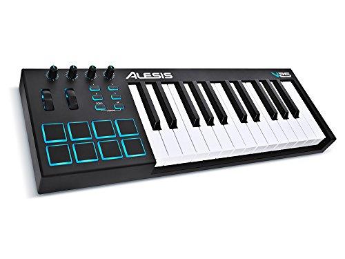 ALESIS V25 - Tastiera master da 25 tasti, controller midi / USB